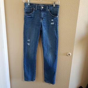 Levi's Girlfriend Distressed Jeans Girls sz 12
